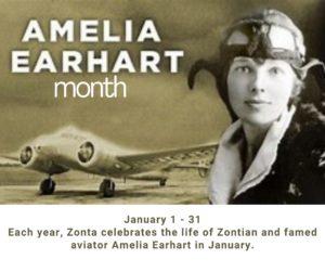 Amelia Earhart Month